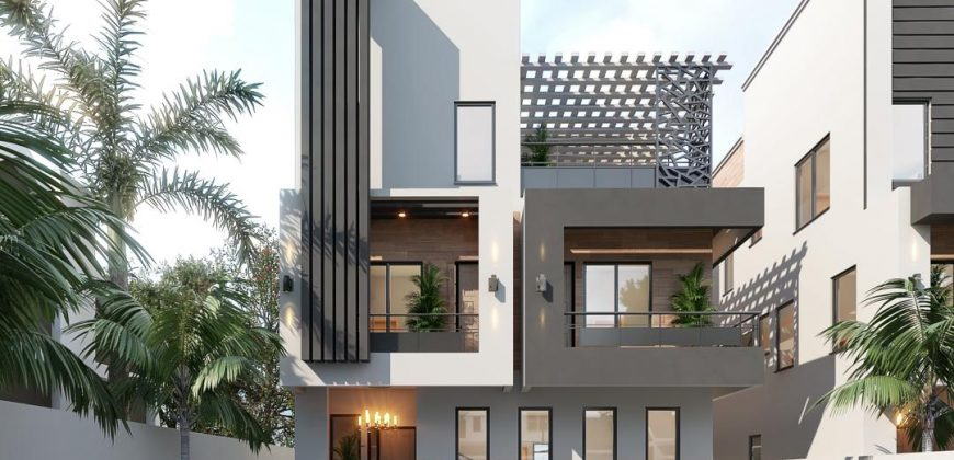 3 Units Of 5 Bedroom Fully Detached Duplex With A Room Bq